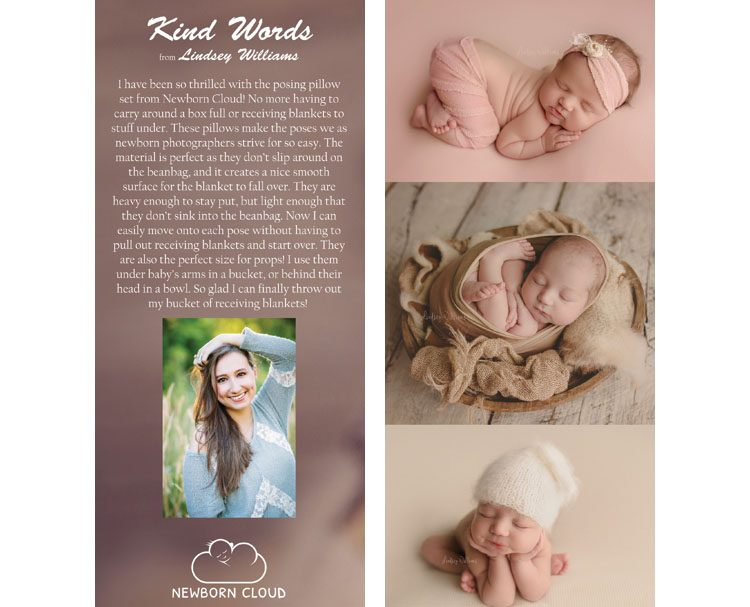 Lindsey Williams Reviews Newborn Cloud