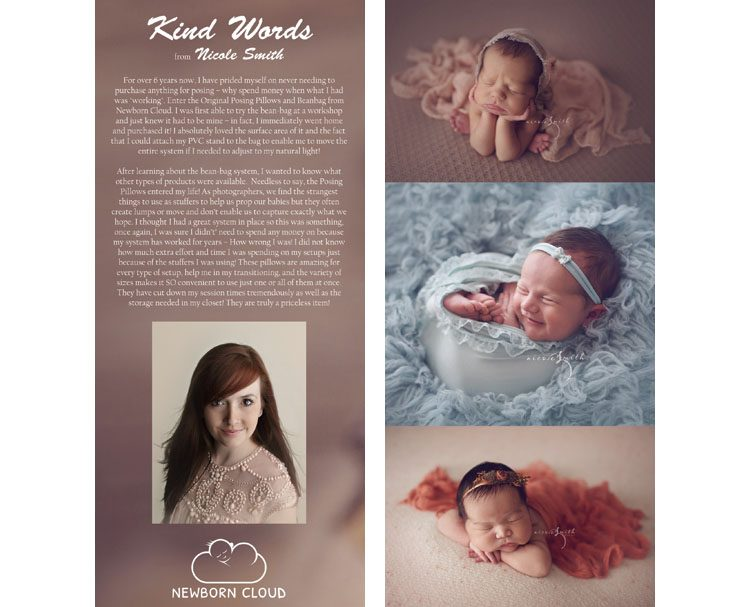 Nicole Smith Reviews Newborn Cloud